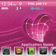 iHeart - girly iPhone theme for Blackberry 83xx os 4.5 ONLY