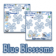 All Things Berry - Blue Blossoms (Classic ZEN or Bottom ZEN) 8100/ Pearl BlackBerry Theme