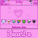 All Things Berry - I Heart U [pink or red] 8300/Curve Bottom ZEN Theme