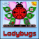 All Things Berry - Ladybugs Custom ZEN 9500/Storm BlackBerry Theme