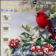 Cardinal Bird Red and Gold Winter Theme