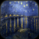Starry Night over River (idle screen)