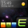 Glare Bottom Dock with Today by Elecite