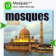 Mosques of Asia (Keys) for Blackberry