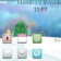 Christmas Snowman Theme For Blackberry 8520/8530