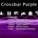 Crossbar Purple Theme