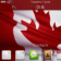 Canadian Flag BlackBerry Theme