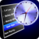Graphical Menu Clock