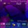Artistic Flowers Theme For Blackberry