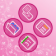 In The Pink BlackBerry6 Style Theme
