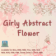 Girly Abstract Flower theme by BB-Freaks