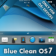 Blue Clean OS7 for OS7 Devices theme by BB-Freaks