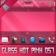 Glass Hot Pink OS7 theme by BB-Freaks