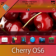 Cherry Default OS7 theme by BB-Freaks - OS7 Compatible