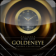 Dark Goldeneye Desktop Clock