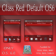 Glass Red Default OS6 theme by BB-Freaks