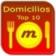 Domicilios Top 10