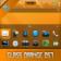 Glass Orange OS7 theme by BB-Freaks