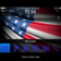 USA Flag - Stars and Stripes USA Flag Theme with Blue Icons