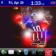 New York Giants Theme | 10 Mini Icons | Hidden Dock | Weather Slot |