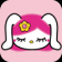 Pink Bunny - Perfect Theme For Your OS7