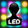 LED Caller ID - FREE Edition - Instant Call Notifier with Flashing LED Colors for your Contacts