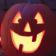 A Halloween Jack 'o' Lantern Pumpkin Theme
