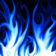 Blue Flames Theme