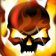 Flaming Skull Theme with OS7 Icons