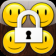 Smiley Pattern lock-Draw a pattern to unlock your phone