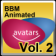 Animated Avatars for BBM Volume 2