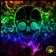 Colorful Rainbow Skull