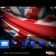 Team GB Union Jack Flag for 2012 Olympics with Blue Icons Theme