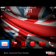 Great Britain Flag for 2012 London Olympics with Red Icons Theme
