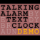 Talking Alarm Text Clock Demo