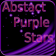 Abstract Purple Stars