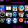Purple Stripes Theme for the Blackberry 8900