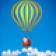 Hot Air Balloon Merry Christmas