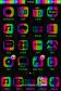 Wild Polka Dot Rainbow HD