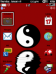 Yin Yang ~RED~ Custom ZEN 9500/Storm Theme