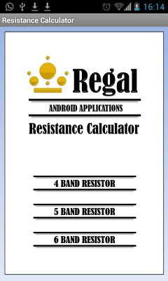 Resistance Color Code Calculator