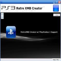RetroXMB Creator 1.5.4: Supports PSOne ISOs, DOSBox Games