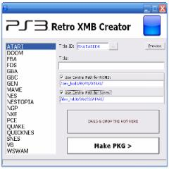RetroXMB Creator 1.3.5: More Image And Core Options For Shortcuts