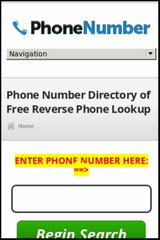 Reverse Cell Phone Lookup Investigator