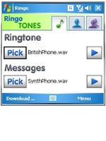 Ringo Mobile MP3 Ringtones and Text Tones