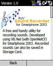 RJV Sound Recorder