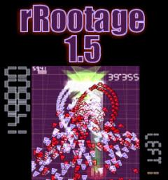 PSP Homebrew Shooter: rRootage version 1.5