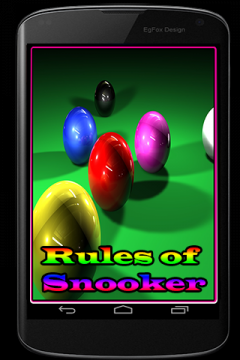 Rules of Snooker Game