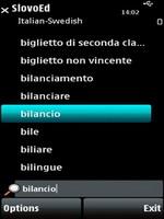 SlovoEd Compact Italian-Swedish & Swedish-Italian dictionary for S60
