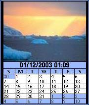 Image Calendar Sunset Edition for Series 60